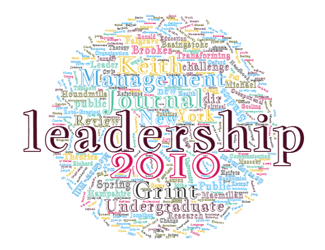 Bibliographie leadership 2010